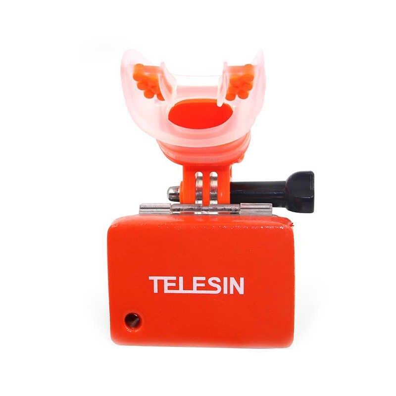 TELESIN сёрфинга ротовое крепление набор оборудования для GoPro hero 7 6 5 black XiaoYi 4 K go pro eken sjcam аксессуары для спортивной экшн-камеры