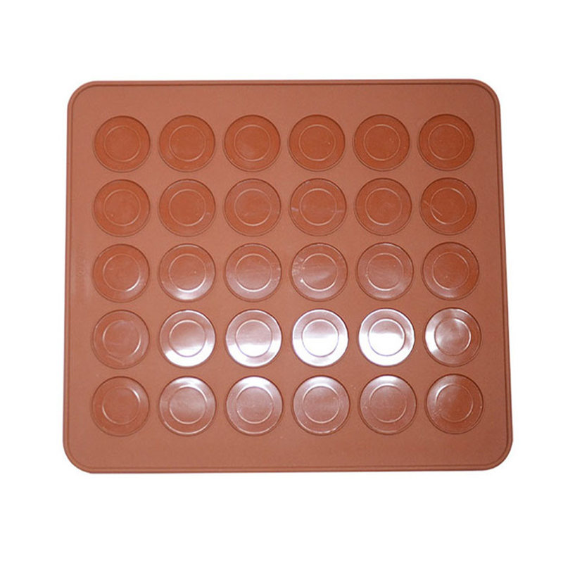 New DIY 30 Cavity Baking Mat Mold Silicone Hogard Round ...