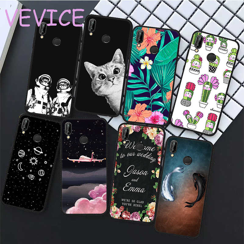 Soft TPU Phone Case For Huawei Y9 2018 P20 Pro P10 Mate10 Lite P8 P9 Nova 2i Back Cover Case For Honor 9 Lite 8 Lite Coque Capa
