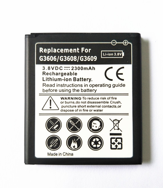 AZK NEW Black G360 Replacement <font><b>Battery</b></font> for <font><b>Samsung</b></font> Galaxy Core Prime G360 <font><b>G361</b></font> G360V G3608 G360H G360H/F LTE SM-G3606 2000mAh image
