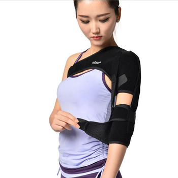 Shoulder Belt Support Arm Sling For Stroke Hemiplegia Subluxation Adjustable Right Left Pads Dislocation Recovery OBER CO-26 image