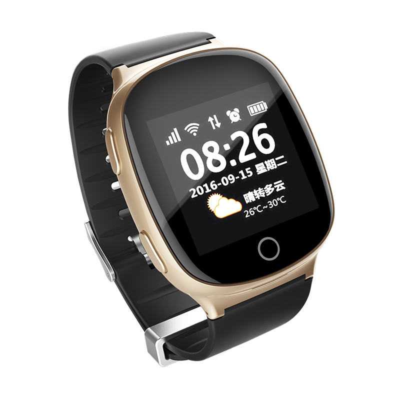 Kids Elderly Smart Watch GPS+LBS+WIFI Positioning Anti lost Heart Rate Sports Tracker Fall Alarm SOS Wristwatch pk T58 Q90 D99-in GPS Trackers from Automobiles & Motorcycles    1