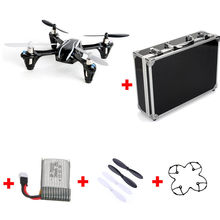 Free Shipping! Upgraded Hubsan X4 V2 H107L RC Helicopter+Battery+Protect Frame+Blades+Hard Case
