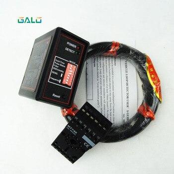 220 V canal único com 50 m bobina single channel indutivo detector de loop automático da porta e porta de barreira