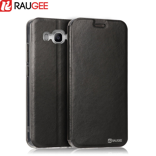 reputable site 4b10d 6a725 US $4.99 |RAUGEE for Samsung Galaxy j5 2016 Case Flip Leather Wallet  Protective Back Book Cover for Samsung Galaxy j7 2016 Phone Holder-in Flip  Cases ...