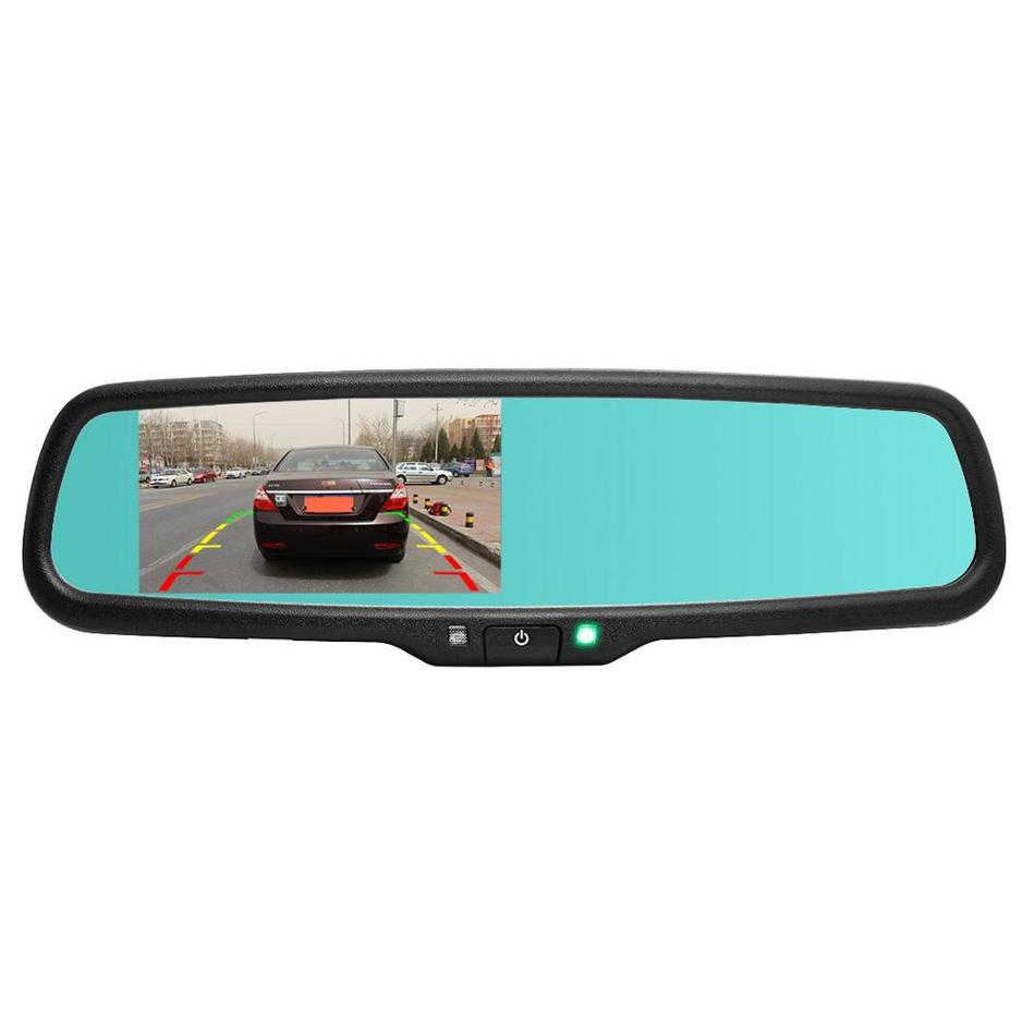 car parking rear view mirror monitor 4 3 800 480 tft lcd screen auto dimming special bracket 2. Black Bedroom Furniture Sets. Home Design Ideas