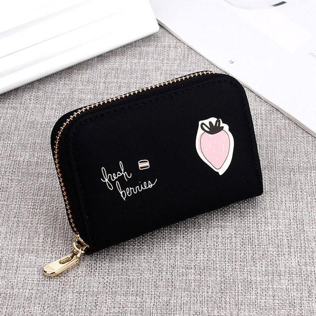 Top Quality PU Leather Women's Purse Female Credit Card Holders Small Wallet Cute Girl Small Card Wallet