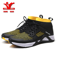 XIANG GUAN 2017 NEW Running Shoes for men or women Mesh Breathable man Outdoor Sport Shoes