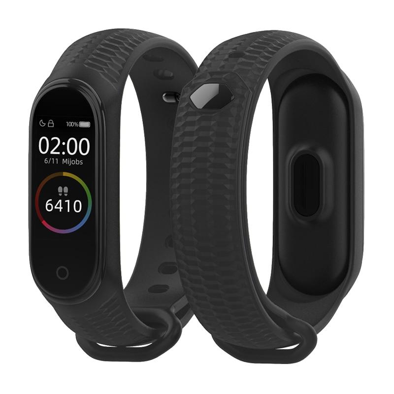 Mijobs Mi Band 4 Strap Aurora Wrist Strap For Xiaomi Miband 3 Bracelet Correa Mi Band 4 NFC Wristban Global Watch Accessories