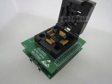 Z klapką ZY501Q QFP64-DIP48 IC51-0644-807 staiger IC spalania siedzenia Adapter testowania miejsce badania gniazdo stanowiska do badań w magazynie tanie tanio Tester kabli JINYUSHI