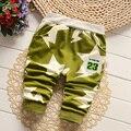 Del Otoño Del resorte Del Bebé Del Algodón Pantalones de Deporte Modelo de Estrella Pantalones Del Bebé Muchachas de Los Muchachos Pantalones de Harén 7-24 meses