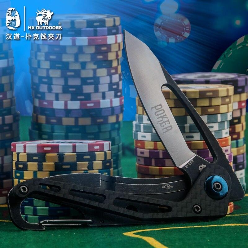 HX OUTDOORS EDC přenosný multifunkční skládací nůž, nůž na - Ruční nářadí - Fotografie 6