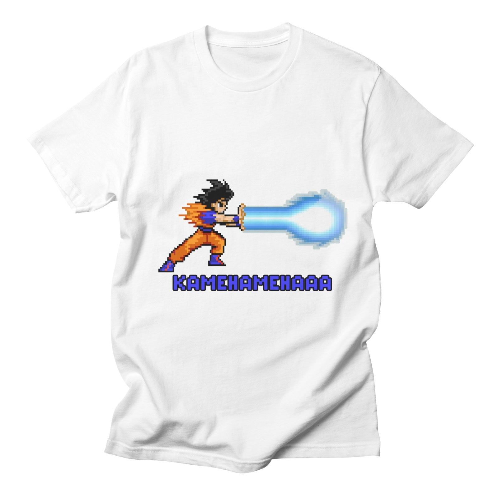 Dragon Ball T Shirt Men Short Sleeve Goku Costume Japanese Anime Fashion Casual Streetwear Harajuku High Quality Funny T Shirts
