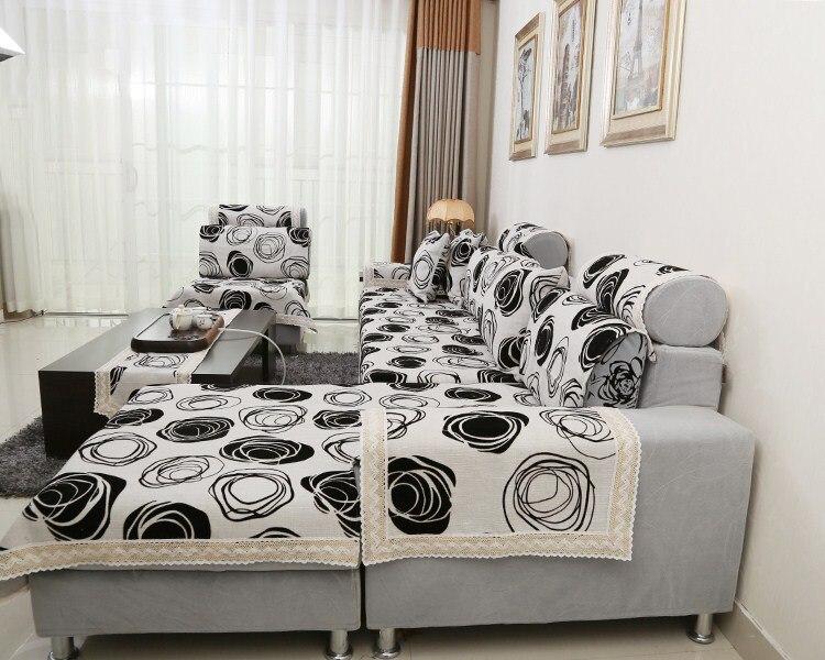 Black And White Sofa Covers Centerfieldbarcom - Black sofa covers slipcovers
