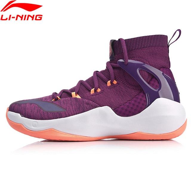 Li-Ning Men SONIC VI V2 Professional Basketball Shoes Mono Yarn LiNing Cloud Cushion Sport Shoes Sneakers ABAN027 XYL197