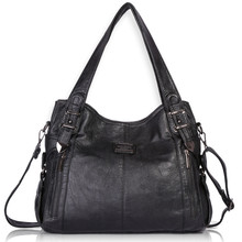 Angel Kiss Single Shoulder Bags for Ladies Casual Totes Super Soft Handbag Women PU Leather 1191