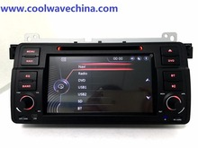 Wince 2din de radio Para BMW E46 M3 (1998-2006) con WIFI Bluetooth BT 1080 P Ipod Phonelink mapa