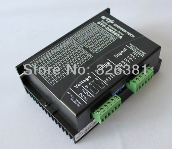 DSP digital DM885A two-phase stepper motor drive 86 8.5 A 20-80 ac/dc 128 subdivision DM885A Controller For CNC MachineDSP digital DM885A two-phase stepper motor drive 86 8.5 A 20-80 ac/dc 128 subdivision DM885A Controller For CNC Machine