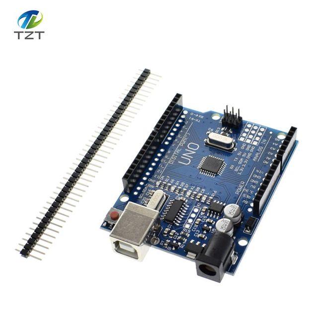 1 stks UNO R3 CH340G Smart Elektronica hoge kwaliteit UNO R3 MEGA328P CH340G Compatibel voor Arduino