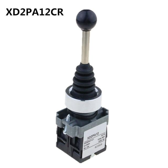 Interrupteur Joystick, 2Positions, bâton Wobble, XD2PA12CR, pour loquet