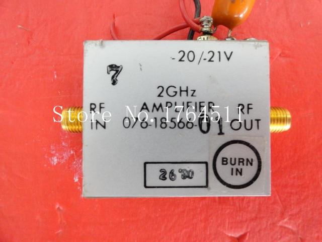 [BELLA] HARRIS 2GHz SD-106448 SMA 20V 12V Amplifier