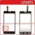 """Original 4.7 """"para lg optimus g f180 e973 ls970 e975 e977 sensor exterior de cristal digitalizador de pantalla táctil negro blanco + código de seguimiento"""