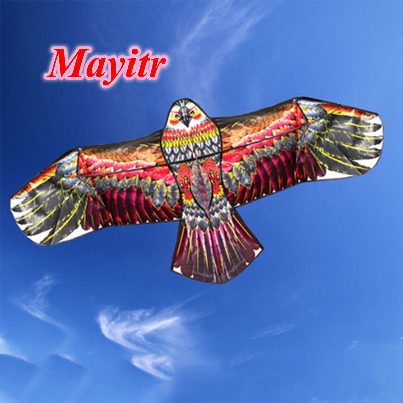 Family Outings Outdoor Fun Sports 1.1M Flying Eagle Kite For Children's Toy Gift Novelty Animal Kite Flying Higher High Quality