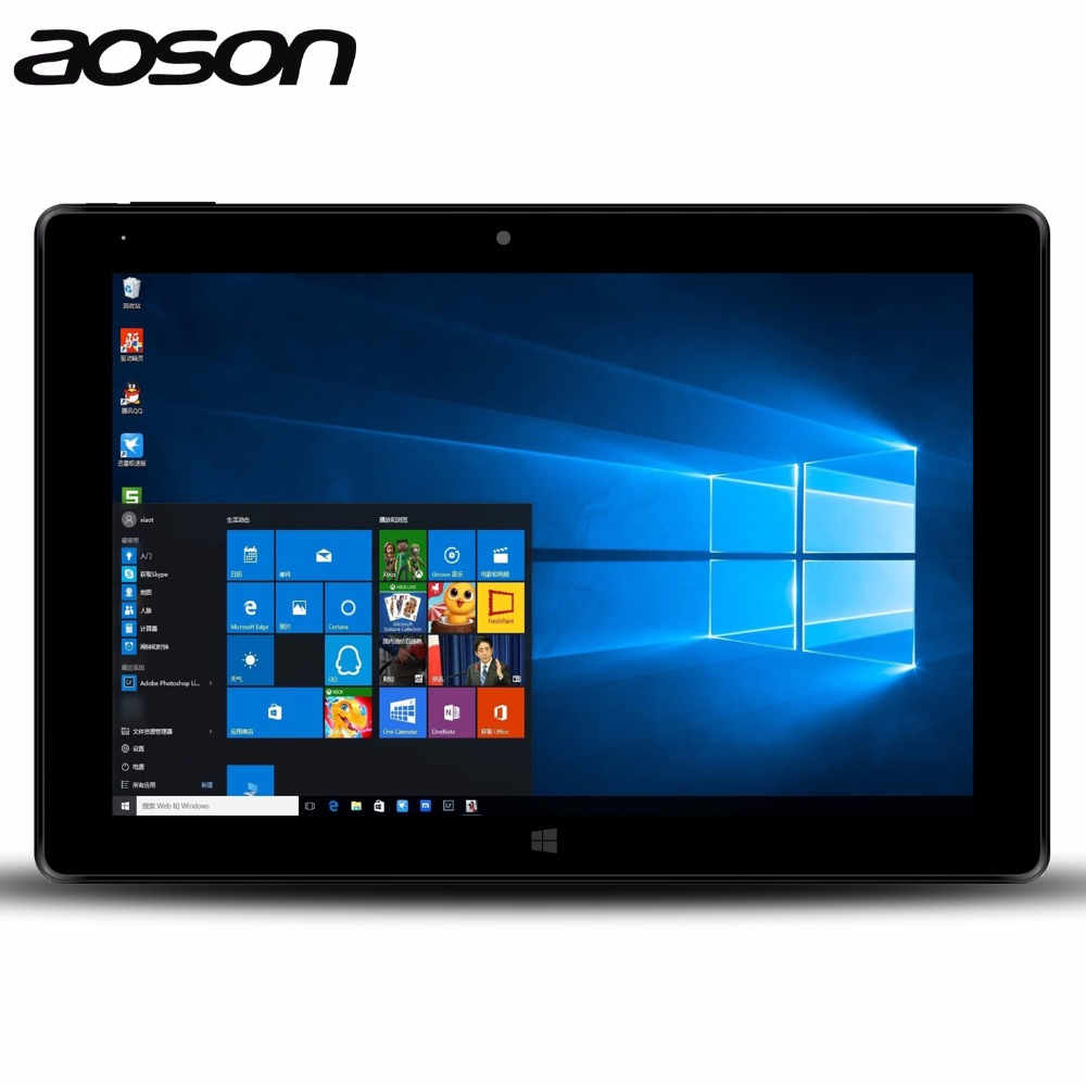 buy aoson r16 10 1 inch windows 10 tablet pc quad core tablette for intel. Black Bedroom Furniture Sets. Home Design Ideas