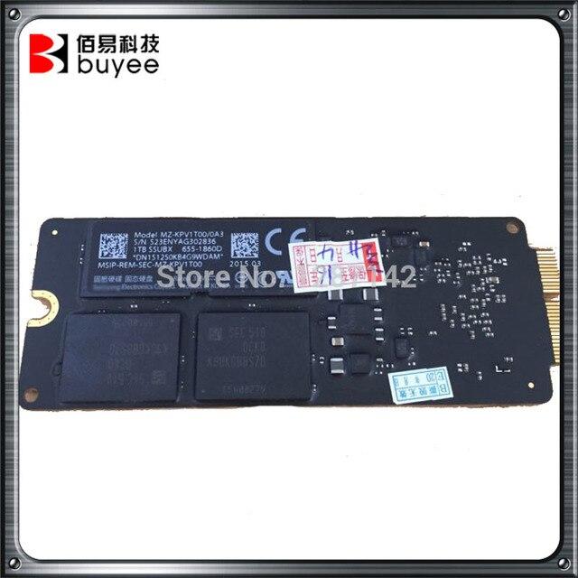 Оригинальное Качество 1 ТБ SSD Для Macbook Pro Retina 13 ''15'' A1502 A1398 2015 Год SSD ME253 MD878