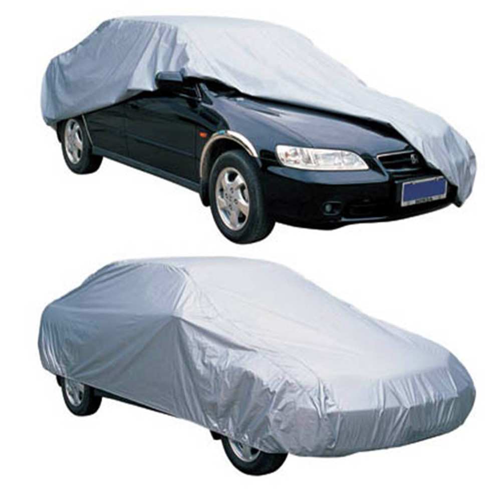 Waterproof Car Covers Size S/M/L/XL/XXL Indoor Outdoor Full Auto Covers Sun UV Snow Dust Rain Resistant Protection Car Umbrella
