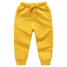 Kids pants Solid Cotton Long Boys Casual Outwear Sport Pants School Spring Autumn Children Trousers toddler girl 4 10 Year