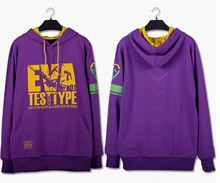 Neon Genesis Evangelion EVA-01 TESTTYPE Cospaly Hoodie Coat