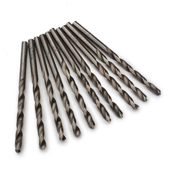 Real Limited Twist Drill Bit Woodworking Tool Brocas 10pcs 4.0mm Micro Twist Drill Bits Straight Shank Electrical 10pcs 0 3 3mm micro hss twist drilling bits straight shank electrical drill tool