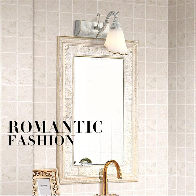 16CM Ballerina Vanity Light Retro Vintage Bathroom Mirror Lamps Bedroom Wall Sconce Mounted Bath Mirror Light Home Mirrors Light ...