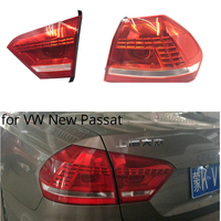MZORANGE Tail Light for Volkswagen New Passat 2011 Taillight LED rear lamp DRL+Turn Signal+Brake+Reverse Car Styling