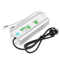 AC 110~260V to DC 12V 120W UK Plug IP67 Waterproof Electronic LED Driver Power Supply LED Strip Strings Lamp Transformer Adapter