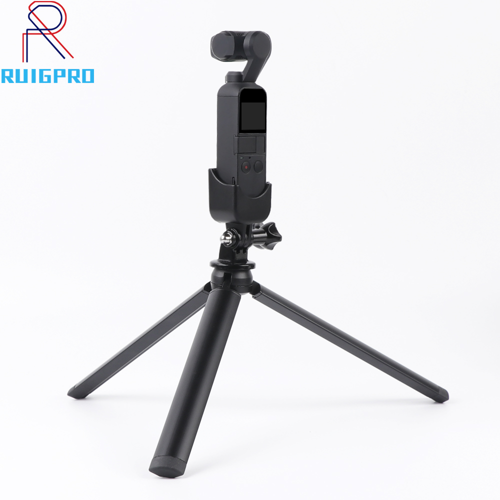 1pc Multi-functional OSMO Pocket Aluminum Alloy Mount Tripod for DJI Osmo Handheld Gimbal Accessories