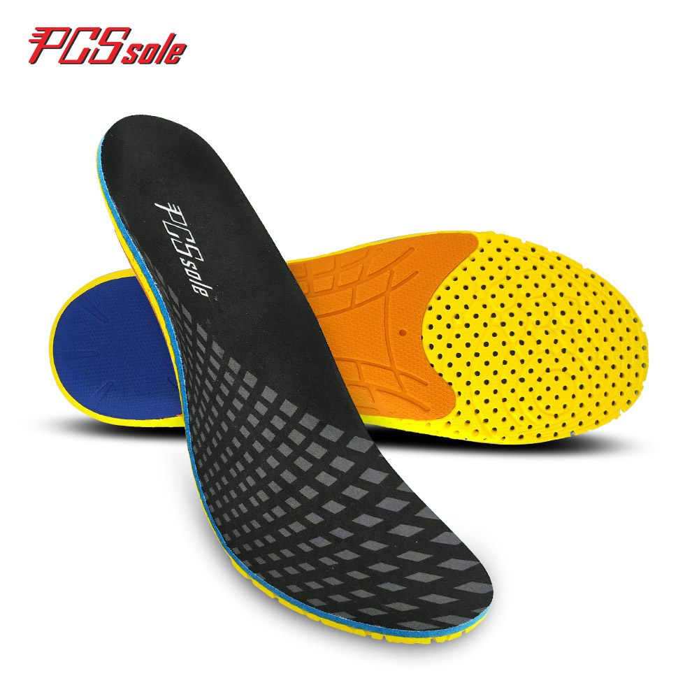 цены PCSSOLE flat foot orthotic insoles arch support  inserts orthopedic Plantar fasciitis relieve shock absorption for man&women E12