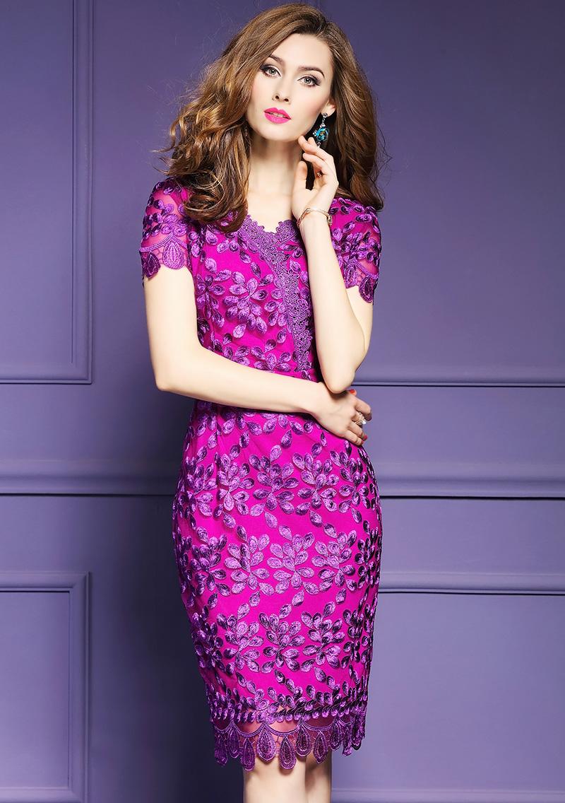 Online Get Cheap Purple Bodycon Vestido De Talla Grande -Aliexpress ...