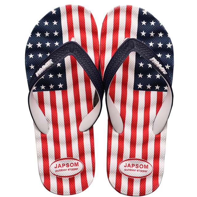 Patriotic Summer Slippers