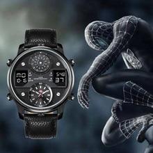 KAT-WACH Men's Business Watches Chronograph Analogue Quartz Watch Men Date Lumin