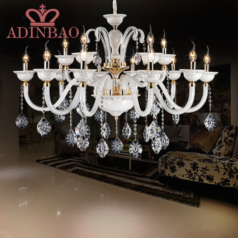 Acquista all'ingrosso Online bianco lampadario moderno da ...