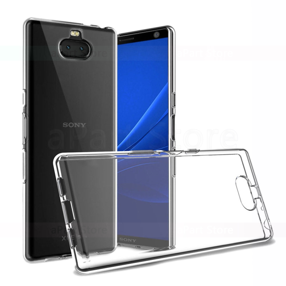 Phone Case For Sony Xperia XZ 1 2 3 4 XZs XZ1 XZ2 XZ3 XZ4 Plus Ultra Compact Premium Ultra thin Slim Transparent TPU Cover in Fitted Cases from Cellphones Telecommunications