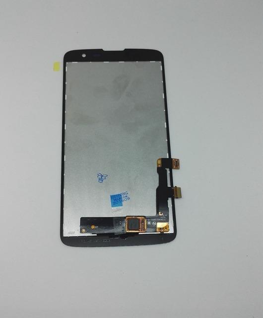 Para lg k7 x210 x210ds lcd screen display + digitalizador táctil de cristal asamblea versión europen y rusia teléfono móvil envío gratis