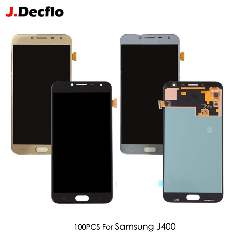 Lcd-Display J400 Digitizer Glass-Assembly Touch-Screen AMOLED/TFT Samsung Galaxy 100pcs