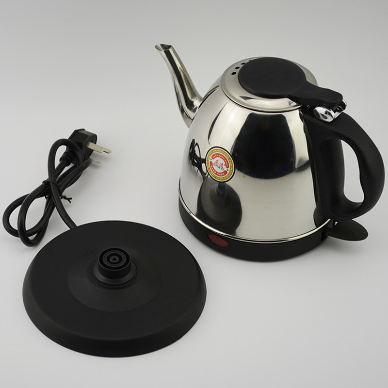 220V Electric Kettle 1L/1.2L Automatic Power-Off Stainless Steel Electric Kettle Quick Heating Anti Dry Burning Home And Office free shipping electric kettle automatic power off anti scald stainless steel