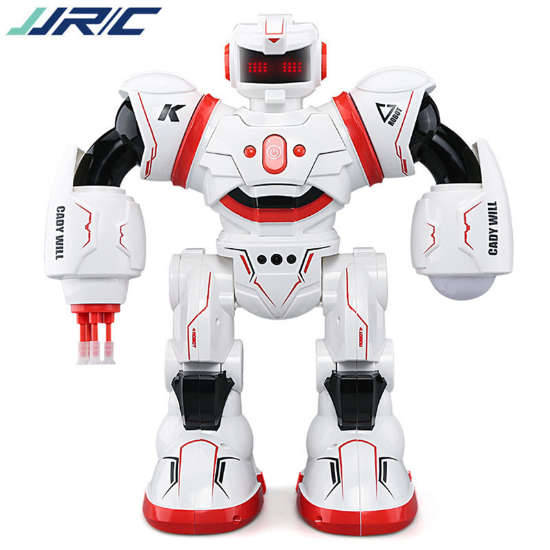 JJRC Toys For Kids Christmas Birthday Gift Present R3 CADY WILL Sensor Intelligent Combat Dancing RC Robot for nano rc robot open source maker obstacle avoidance diy humanity playmate 3d toys for otto kids best toys