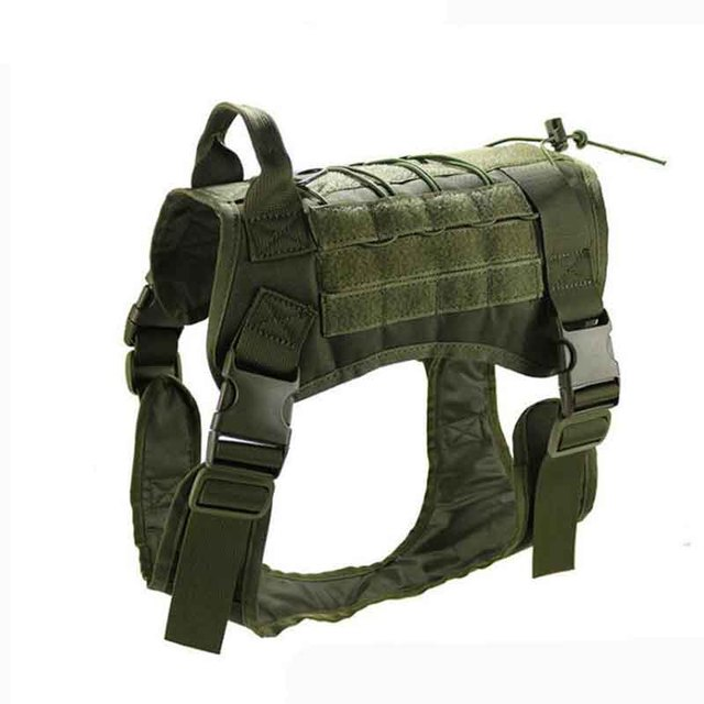 Military Patrol K9 Dog Harness