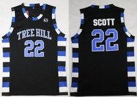 22 Black Basketball Movie Jersey Men S One Tree Hill Scott Stitched Basketball Shirt Jersey Cheap