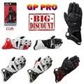 13 Colors New 100% Original GP PRO Motorcycle Gloves TOP Genuine Leather Motorbike Long Gloves MotoGP Road Racing Team Gloves